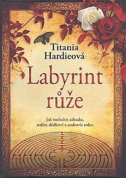 Labyrint růže obálka knihy