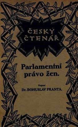 Parlamentní právo žen obálka knihy