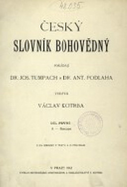 Český slovník bohovědný obálka knihy