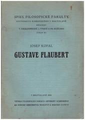Josef Kopal: Gustave Flaubert