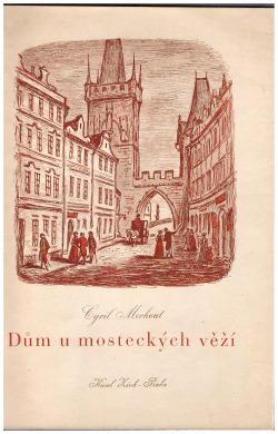 Dům u mosteckých věží obálka knihy