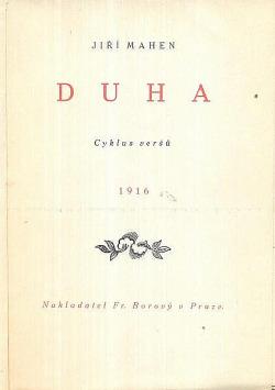 Duha: cyklus veršů obálka knihy