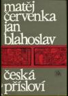 Česká přísloví