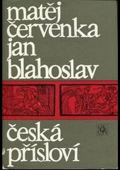 Česká přísloví obálka knihy