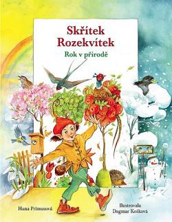 Skřítek Rozekvítek - Rok v přírodě obálka knihy