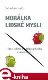 Morálka lidské mysli obálka knihy
