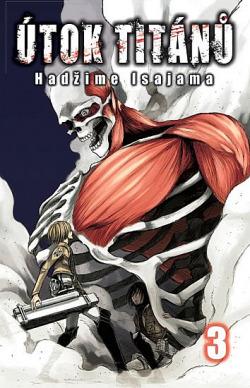 Útok titánů 3 obálka knihy