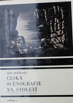 Česká scénografie XX. století obálka knihy