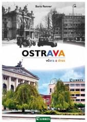 Ostrava včera a dnes obálka knihy