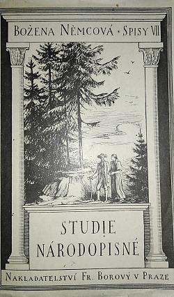 Studie národopisné obálka knihy
