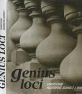 Genius loci obálka knihy