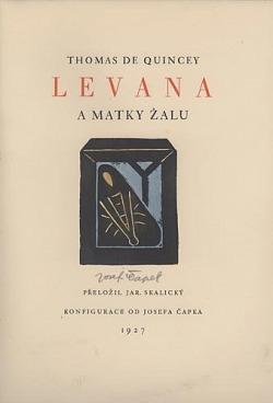 Levana a matky žalu obálka knihy