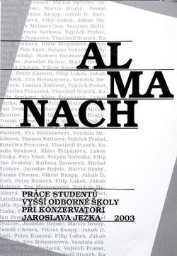Almanach 2003 obálka knihy