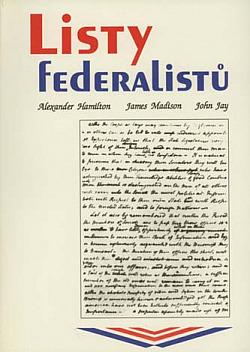 Listy federalistů obálka knihy