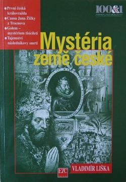 Mystéria země české obálka knihy