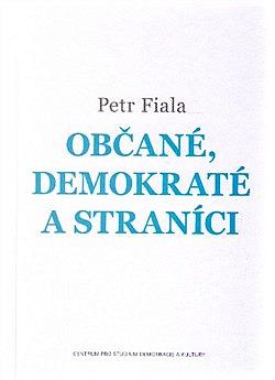 Občané, demokraté a straníci obálka knihy