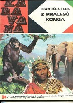 Z pralesů Konga obálka knihy