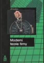 Moderní teorie firmy