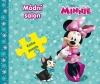 Minnie kniha - Kniha puzzle