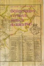 Dějiny správy v českých zemích do roku 1945