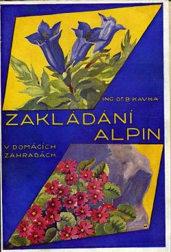 Zakládání alpin v domácích zahradách obálka knihy