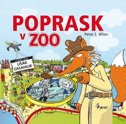 Poprask v Zoo obálka knihy