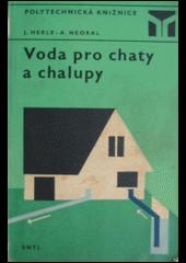 Voda pro chaty a chalupy obálka knihy