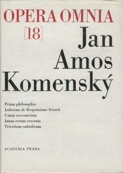 Opera Omnia  18 obálka knihy