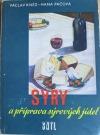 Sýry a příprava sýrových jídel