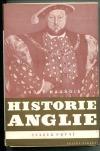 Historie Anglie - svazek první
