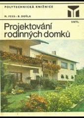 Projektování rodinných domků obálka knihy