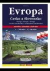 Autoatlas Evropa 1 : 750 000, Česko+Slovensko 1 : 200 000