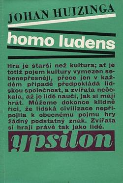 Homo ludens obálka knihy