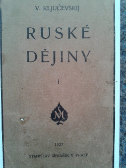 Ruské dějiny I. obálka knihy