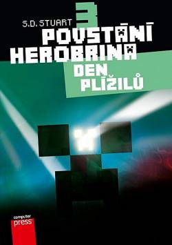 Povstání Herobrina 3: Den Plížilů obálka knihy