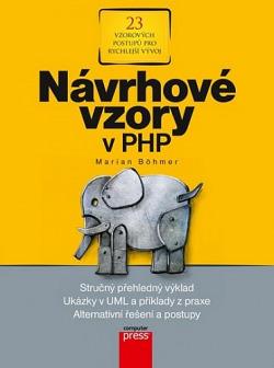 Návrhové vzory v PHP obálka knihy