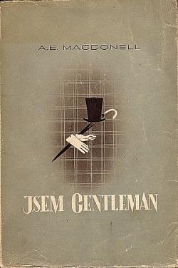 Jsem gentleman obálka knihy