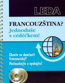Francouzština? Jednoduše s cédéčkem! obálka knihy