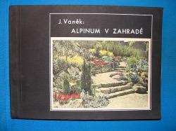 Alpinum v zahradě obálka knihy