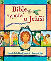 Bible vypráví o Ježíši obálka knihy