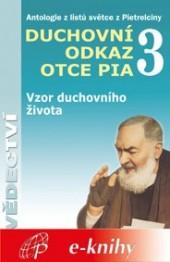 Duchovní odkaz otce Pia 3 obálka knihy