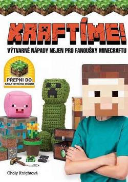 Kraftíme! - Výtvarné nápady nejen pro fanoušky Minecraftu obálka knihy