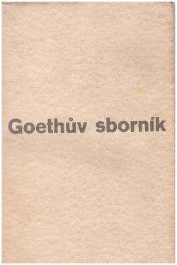 Goethův sborník