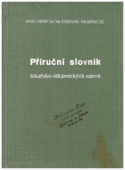 Příruční slovník lékařsko-lékárnických názvů