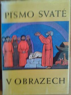 Písmo svaté v obrazech obálka knihy