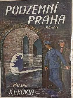 Podzemní Praha obálka knihy