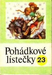 Pohádkové lístečky č. 23 obálka knihy