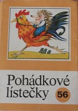 Pohádkové lístečky č. 56 obálka knihy