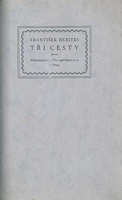Tři cesty obálka knihy