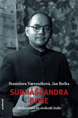 Subháščandra Bose obálka knihy